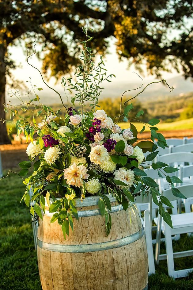 Rustic Romantic Wedding At Serrano Jaclyn Eric Wine