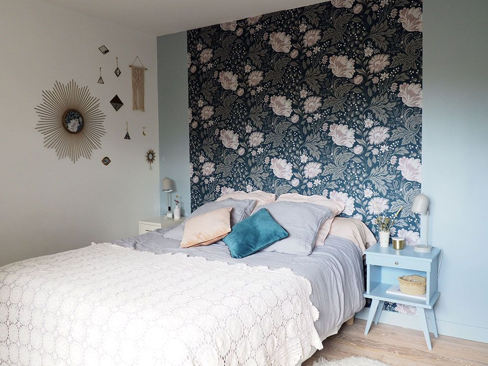34+ Papier peint chambre tete de lit ideas in 2021