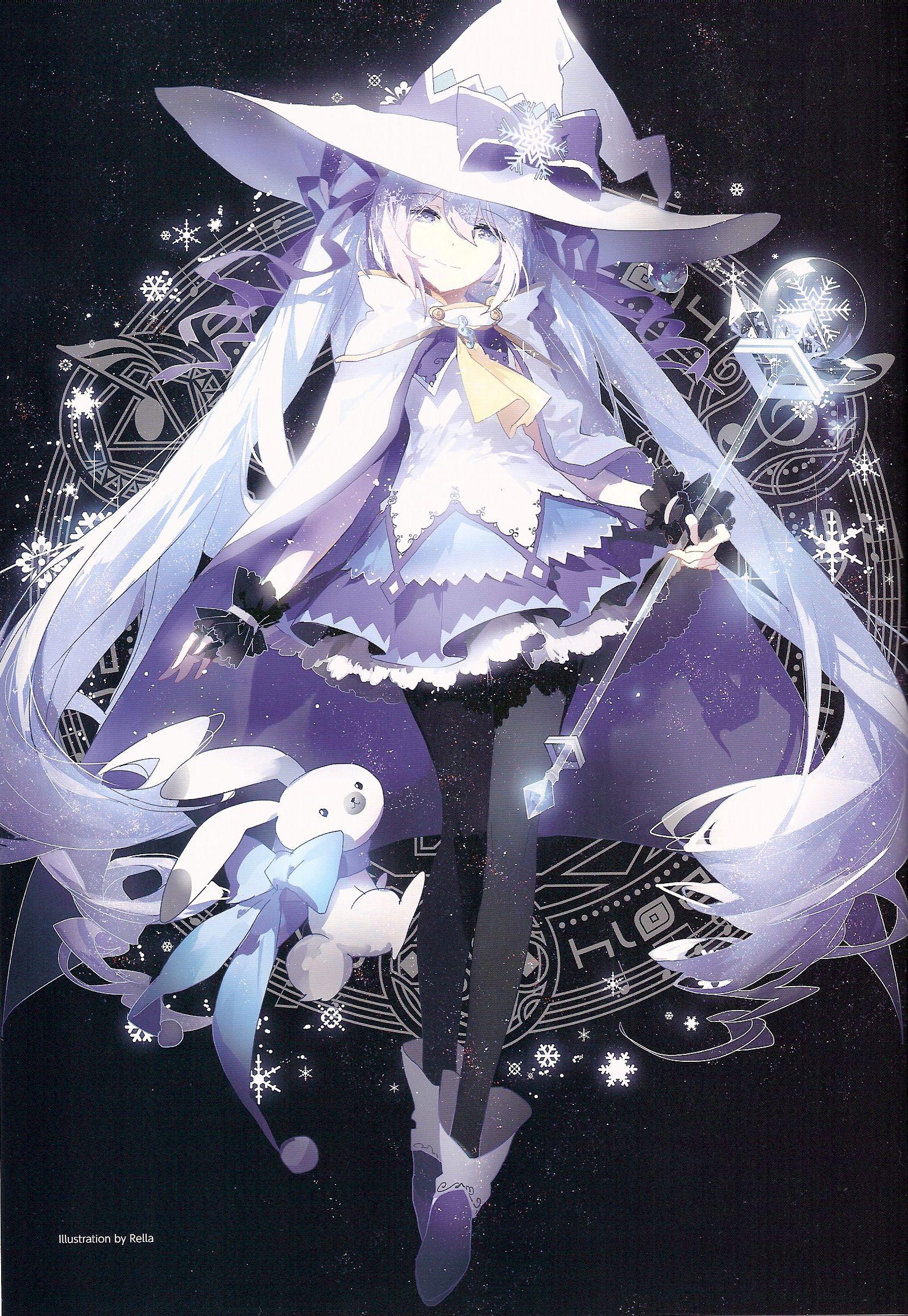 Snow witch miku Miku, Hatsune miku, Hatsune