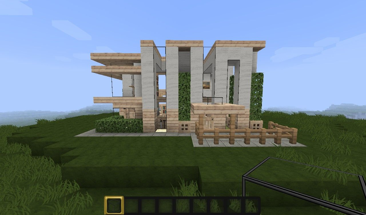 Stupendous 17 Best Ideas About Minecraft Small Modern House On Pinterest Largest Home Design Picture Inspirations Pitcheantrous