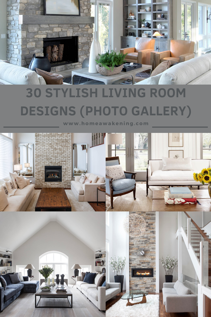30 Stylish Living Room Designs That Work Home Awakening In 2020 Living Room Designs Room Design Stylish Living Room #stylish #living #room #design