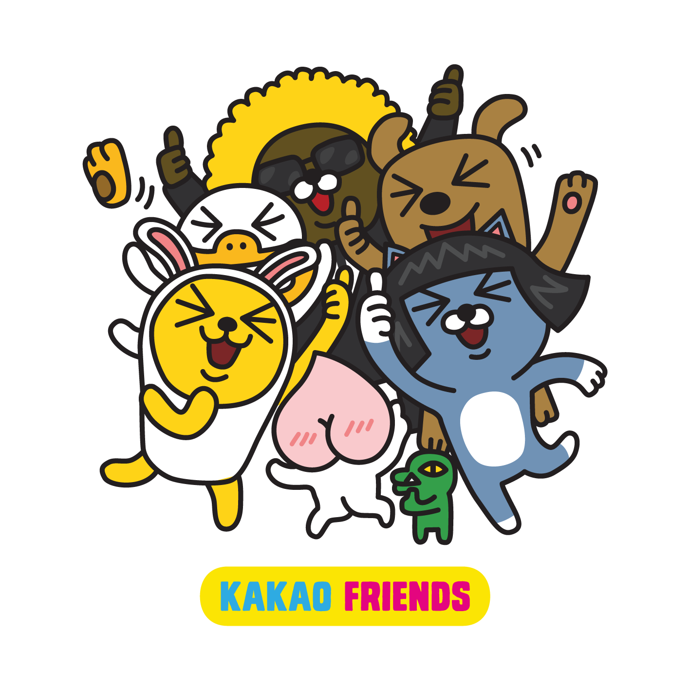 The 24Hour Mommy Meet Kakao Friends on KakaoTalk