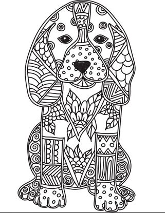 Adult Colouring Pages On The Zen Color App It S A Free Ios App
