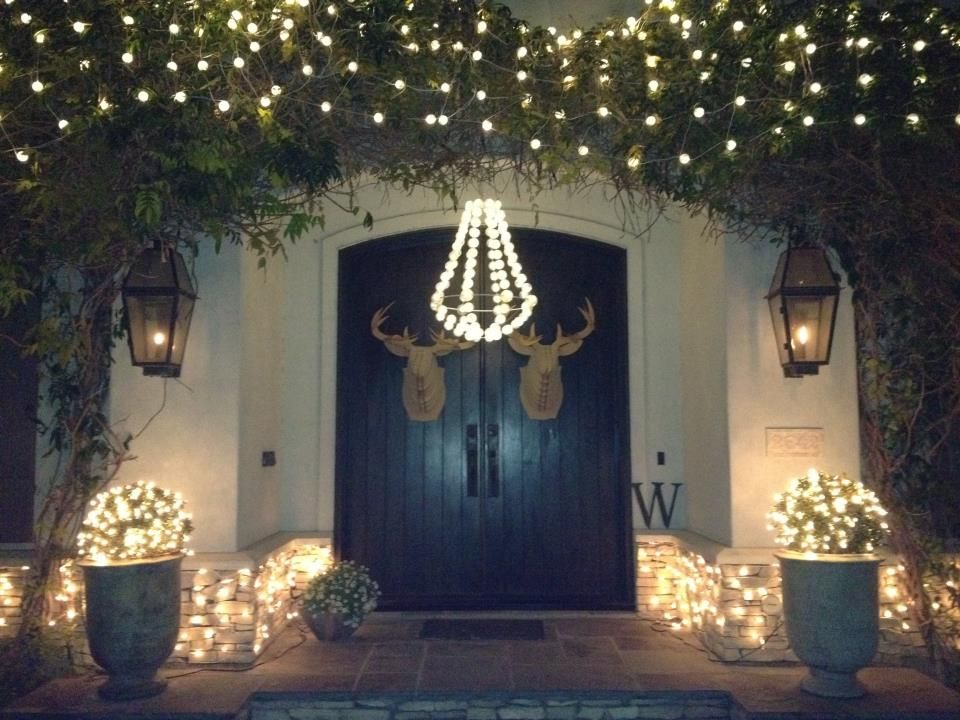 Sally Wheat outdoor Christmas decorations Home inspiration
