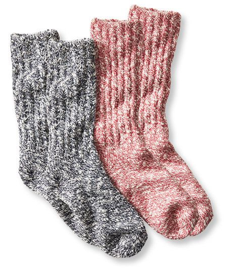 Women S Cotton Ragg Camp Socks Two Pack Camp Socks Comfy Socks Cabin Socks