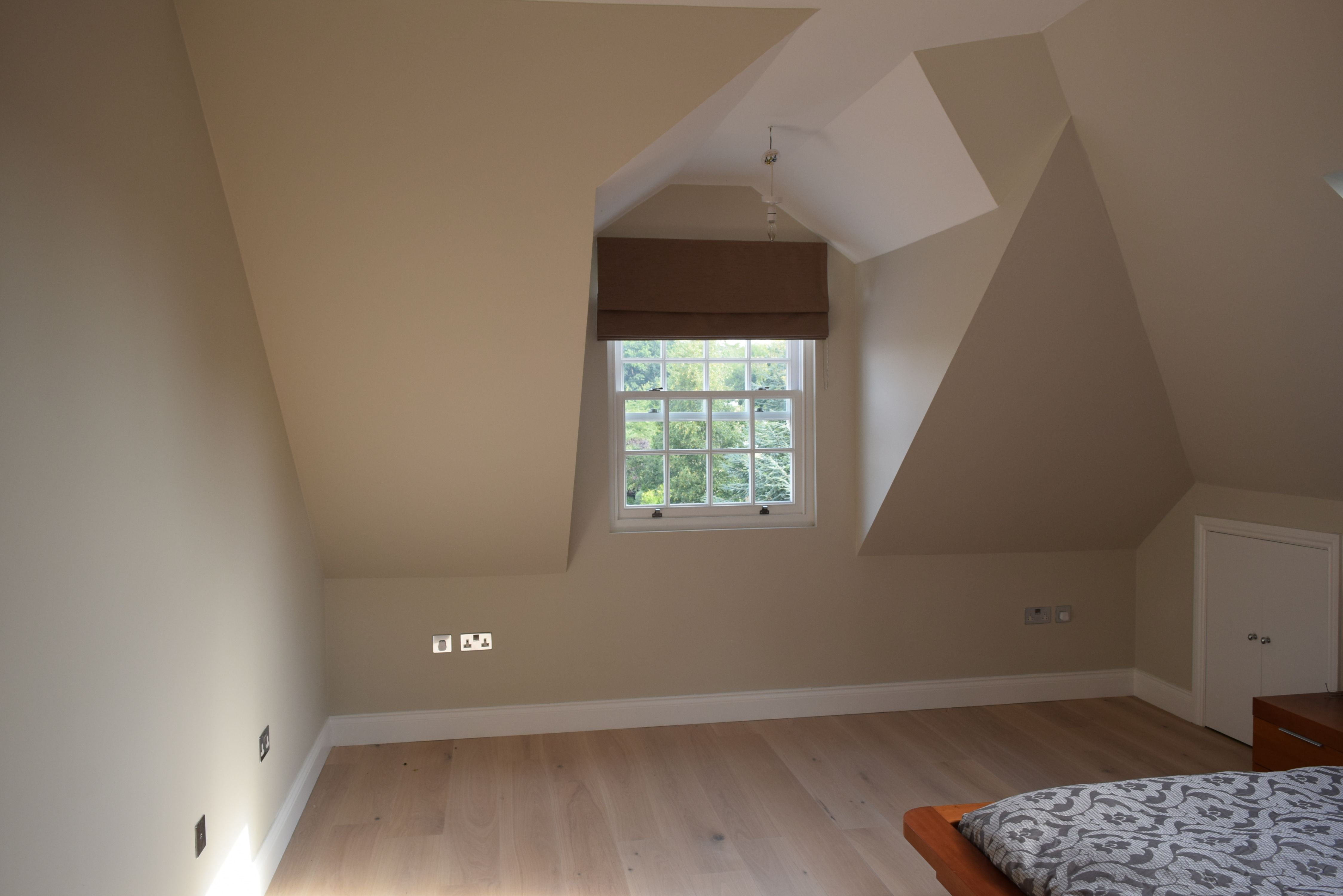 Dormer Loft Conversion Into Master Bedroom Suite With Ensuite Bathroom