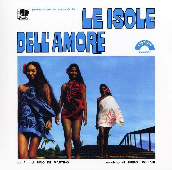 Piero Umiliani Le Isole Dell Amore 180 Gram Blue Vinyl Pressing Lp Vinyl Record Album