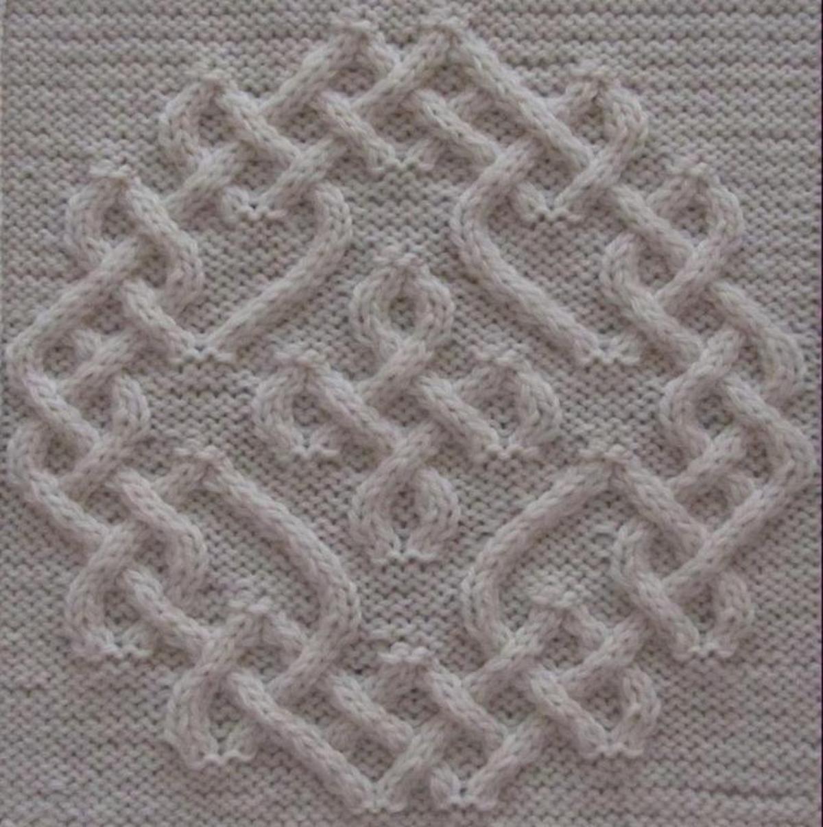 Celtic Snowflake 50/50   Craftsy   Knitting, Knitting ...