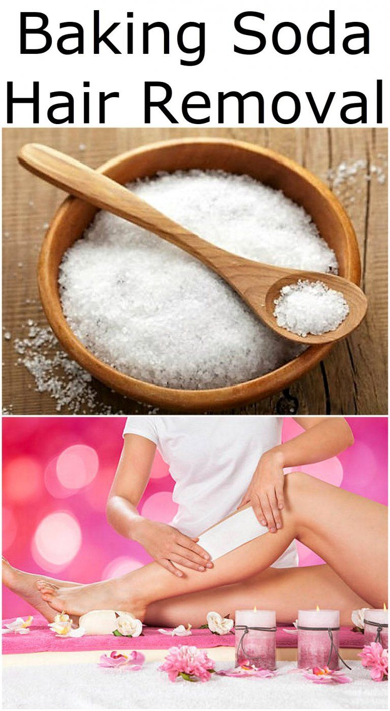 Baking Soda Hair Removal #hairremoval