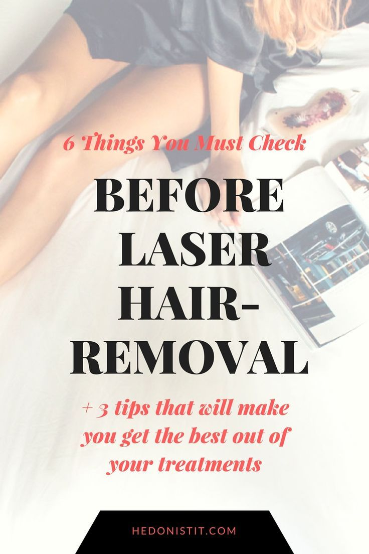6 Things You Must Check Before Laser Hair Removal