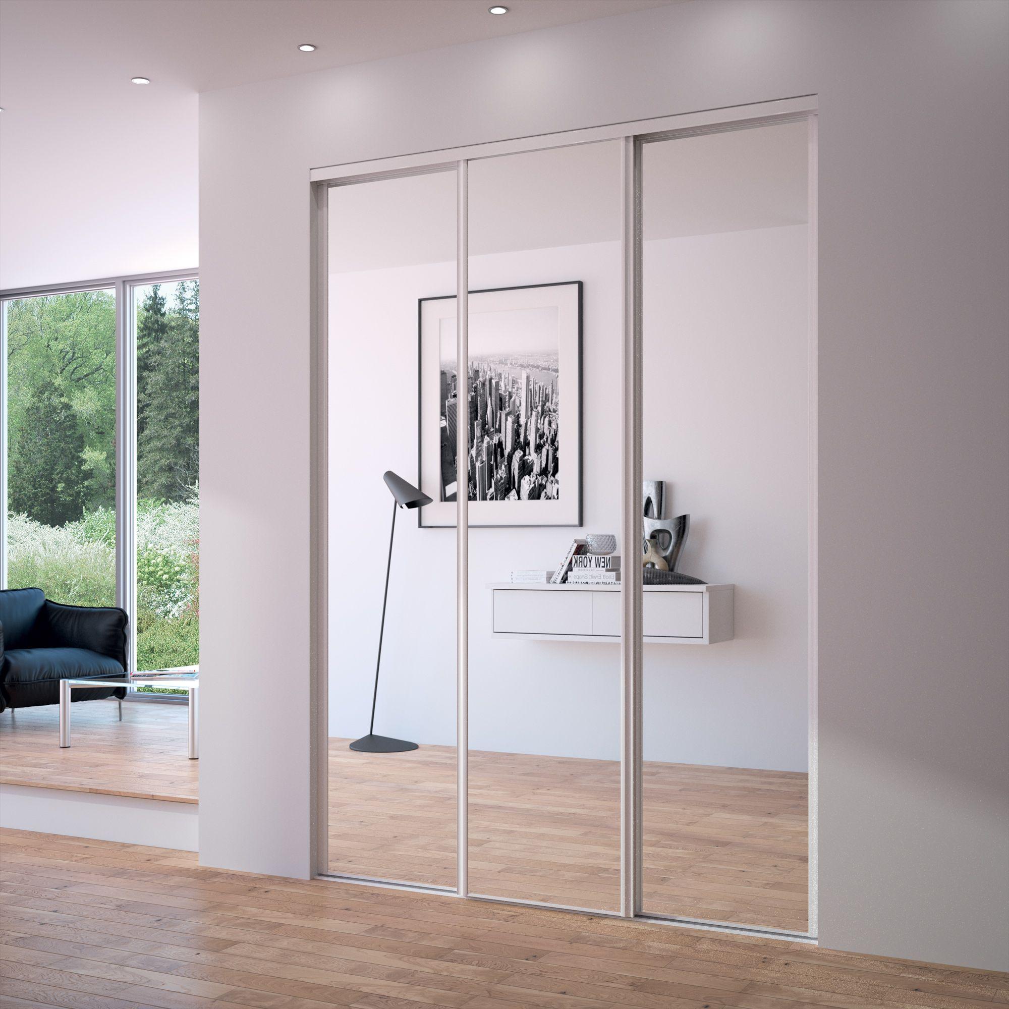 sogal porte placard coulissante mod le acier 1er prix pr mio miroir portes de placard by sogal