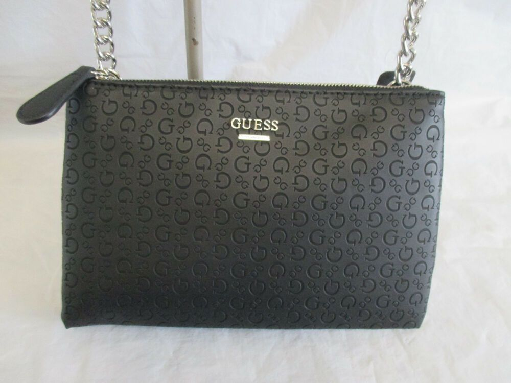 9a5344e77b400 Guess Crossbody Handbag Black Eddington Mini SE724576 Free Shipping  GUESS   Crossbody