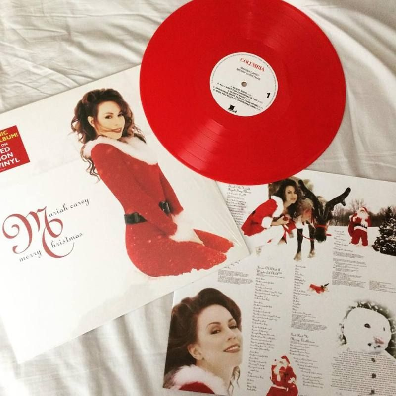 Mariah Carey Christmas Red Vinyl Google Search Musica