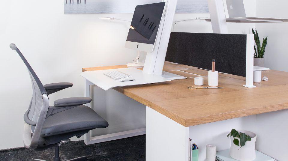 Open Office Desking Benching Striking A Balance Between