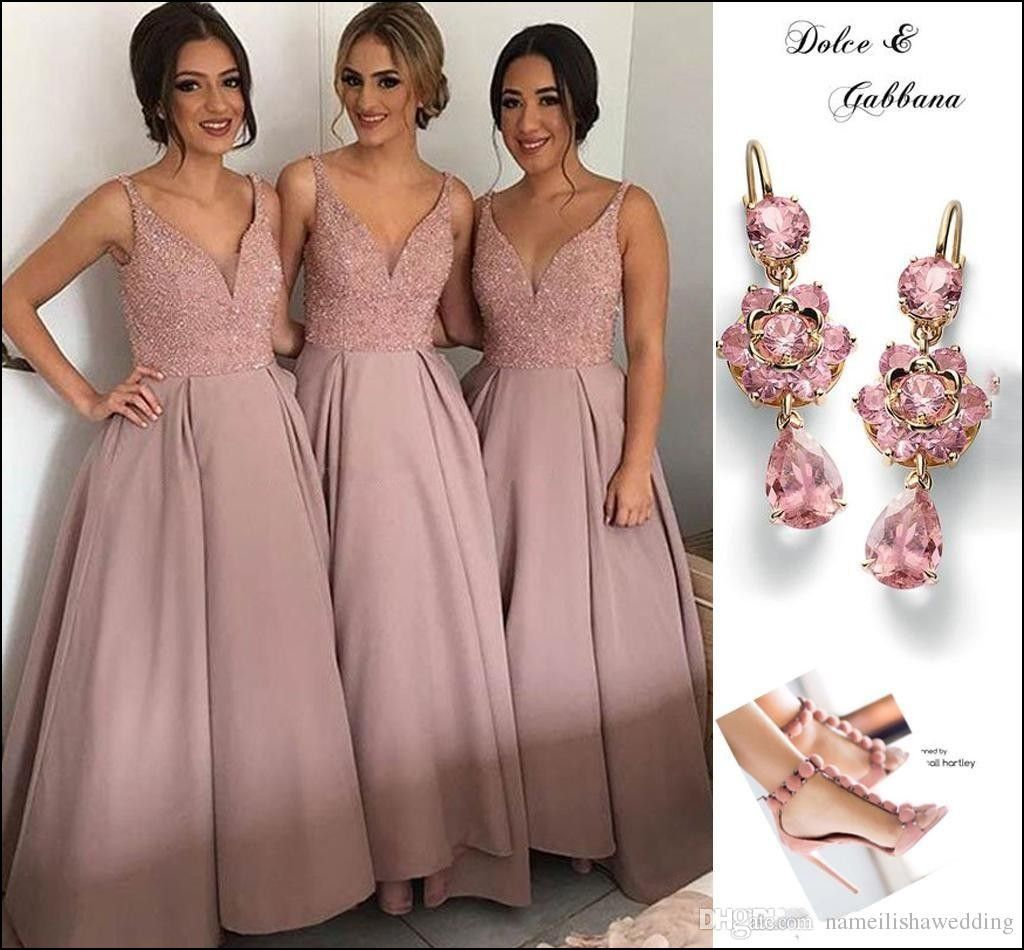 Pink Champagne Bridesmaid Dresses | Dresses and Gowns Ideas | Pinterest