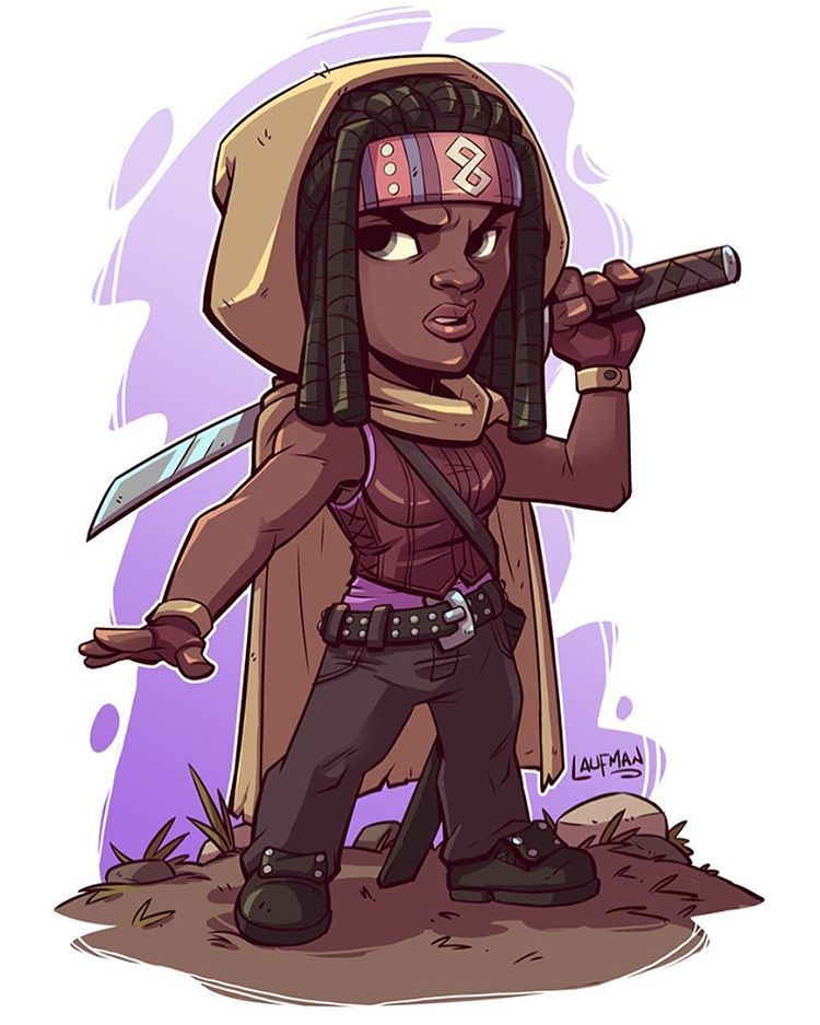 Day 14 Michonne Who S Excited About The Walking Dead Tonight