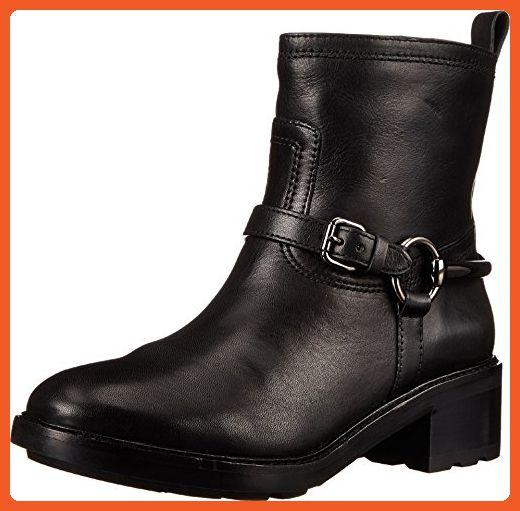 COACH Women's Gillian Black Vegan Leather Boot 10 M - Boots for women  (*Amazon
