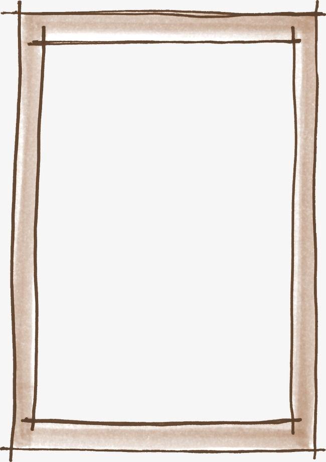 كارتون إطار الصورة إطار الصورة المواد من ناحية رسم إطار مادة صورة ظلية الحدود Png والمتجهات للتحميل مجانا Picture Frames Mirror Frame