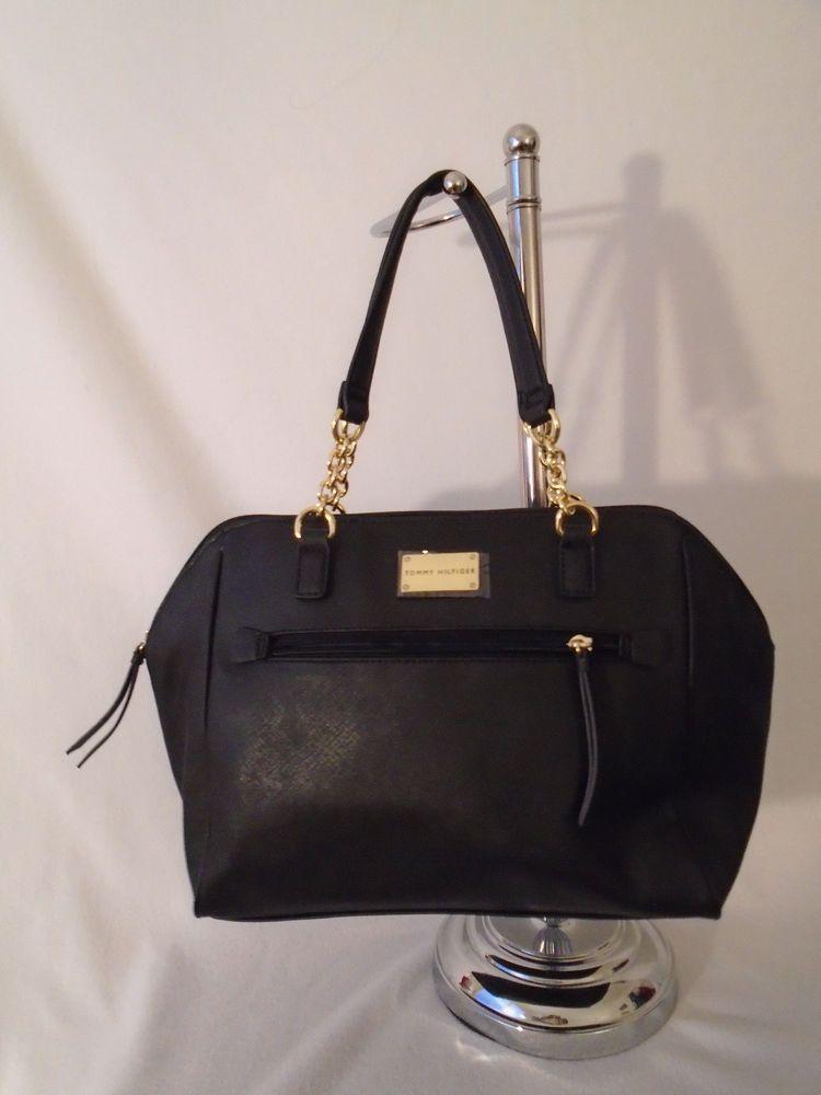 b4f12cb2fb0 Tommy Hilfiger Bag Black Satchel 6934119 990 Handbag Brand New # TommyHilfiger #Satchel