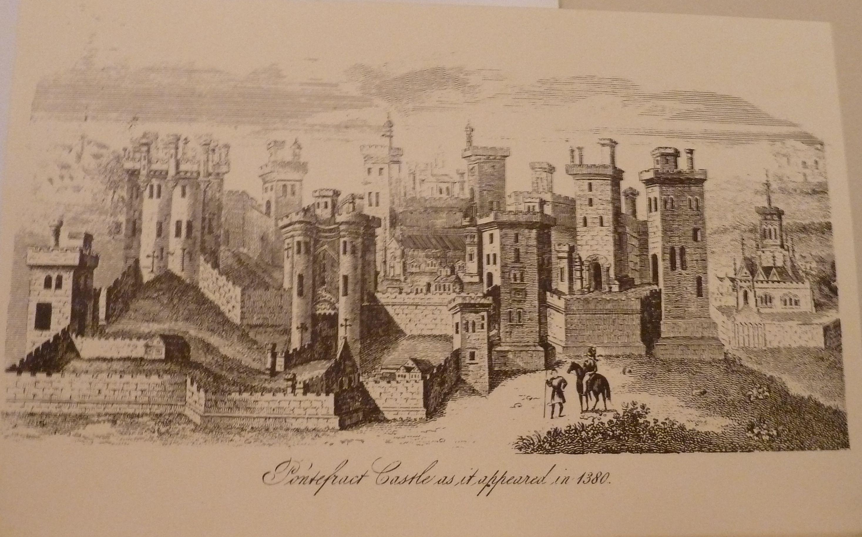 Pontefract Castle As It Appeared In 1380 Pontefract Leeds Castle Castles In England