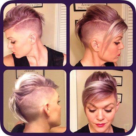 Pin on Shorter hair