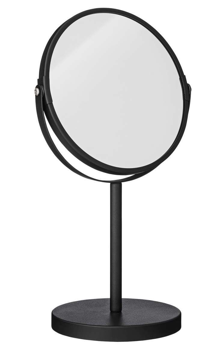 Standspiegel Kosmetik Bloomingville Tischspiegel Ø20x35cm Bad Mirror With Shelf
