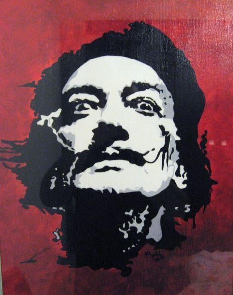 SALVADOR DALI Self-Portrait - 7 & 8 grade self-portraits - high ...