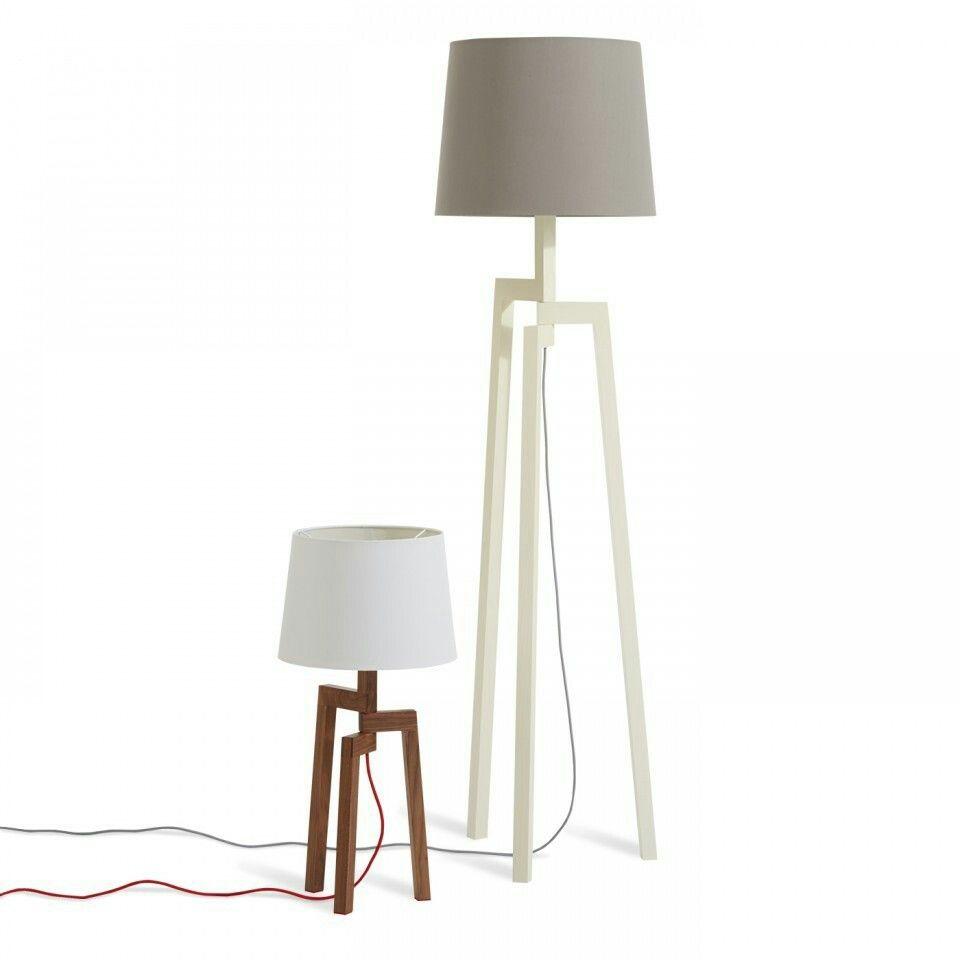 Blu dot | Wooden tripod floor lamp, Modern lamp, Modern ...