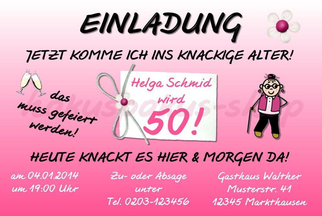 Einladungskarten Zum 50 Geburtstag Lustig Einladungskarten 50