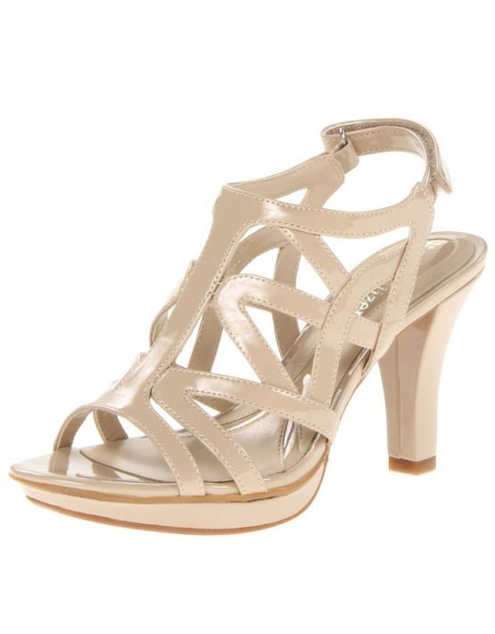 6cc00af5b867 Gentle lift and tonal stitching make for nice details in this strappy  classic.
