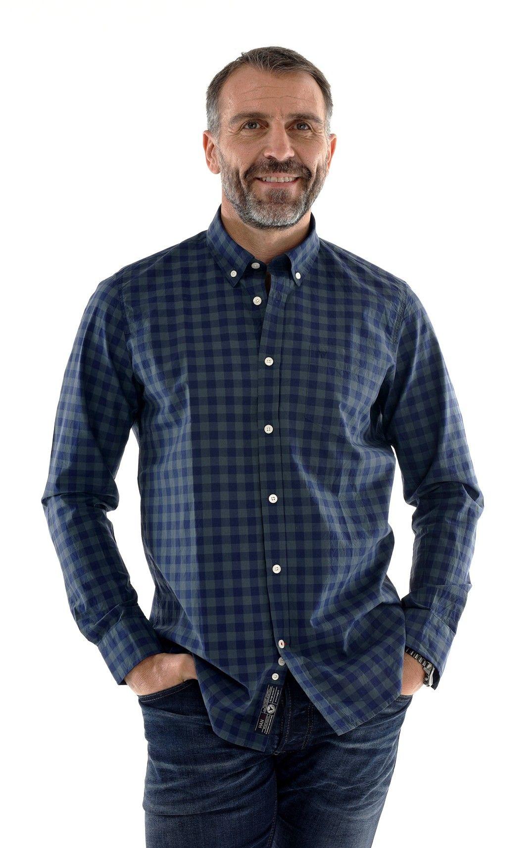 tenue homme classe soir e fete style moderne habill chemise carreaux marine vert mode homme. Black Bedroom Furniture Sets. Home Design Ideas