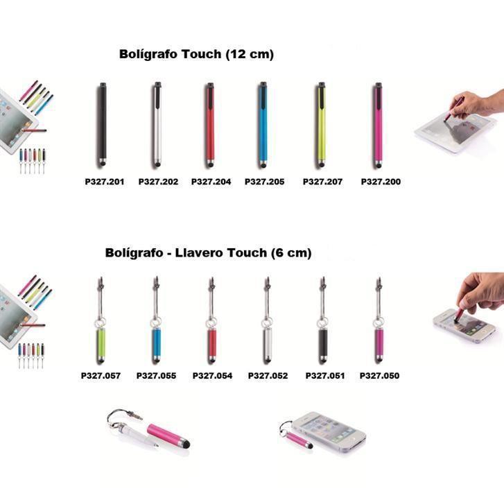 Bolígrafos touch para tu smartphone o tablet. www.tusregalosdeempresa.com