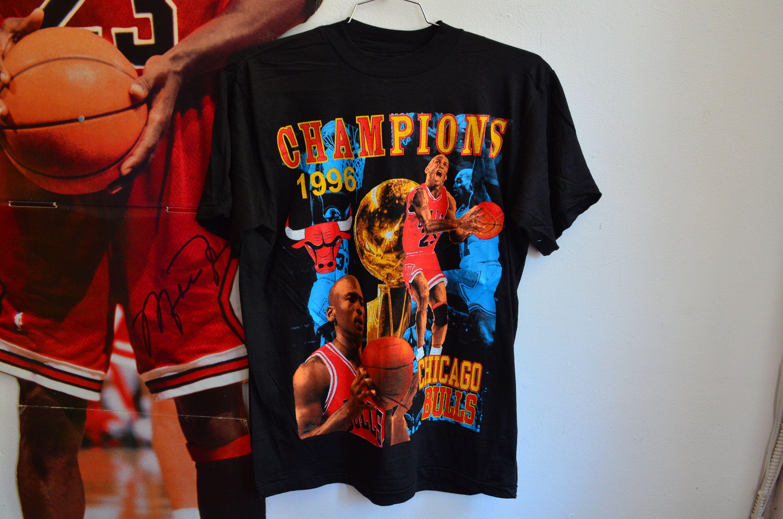 Rare Vintage 90s Bootleg Michael Jordan Bulls Unisex Single Stitch T Shirt By Radotr On Etsy Mens Tops Cool Shirts Vintage Outfits