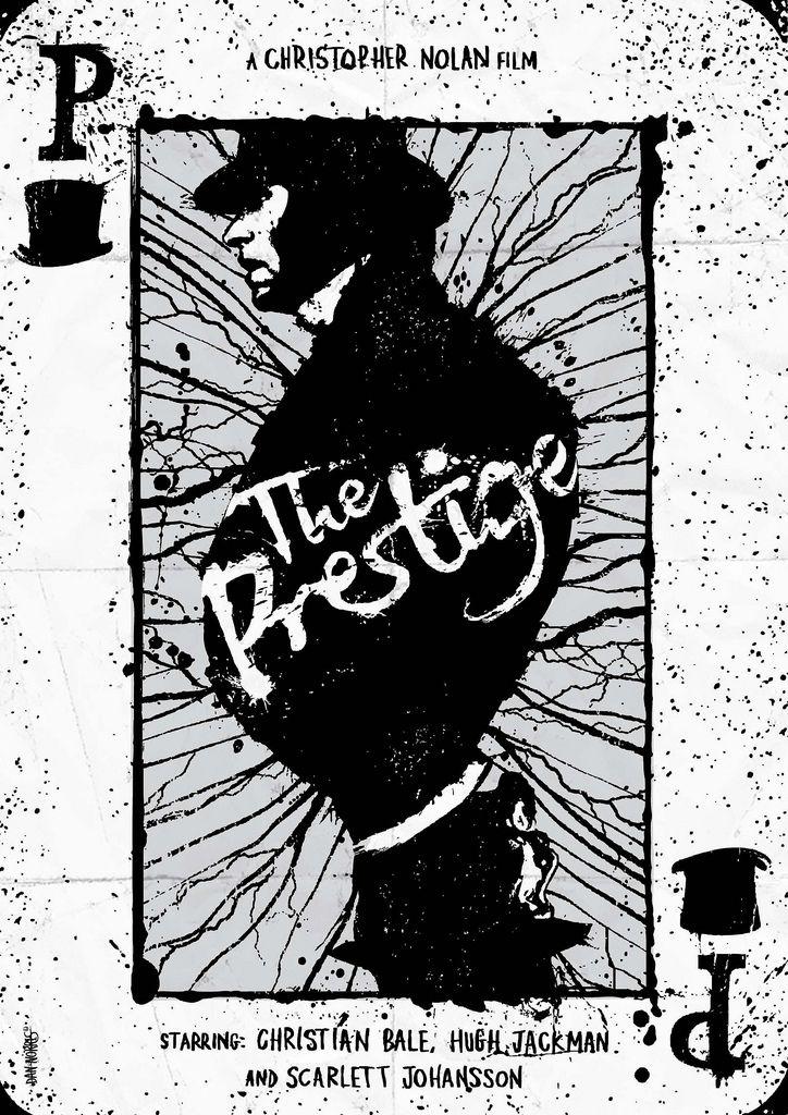 The Prestige - poster by Daniel Norris