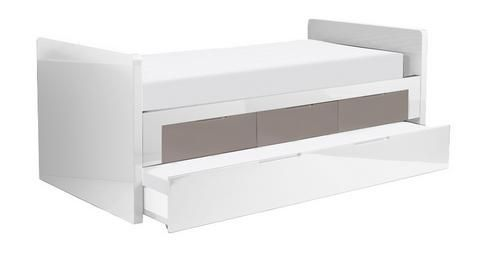 Inspo Buddy Single Bed With Storage Drawers And Pull Out