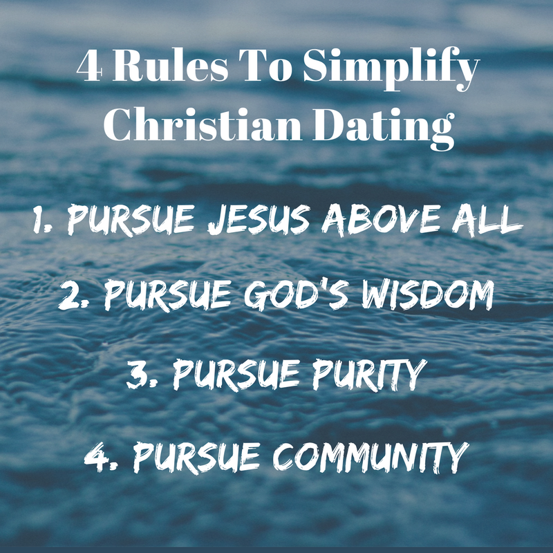 4 rules to simplify christian dating