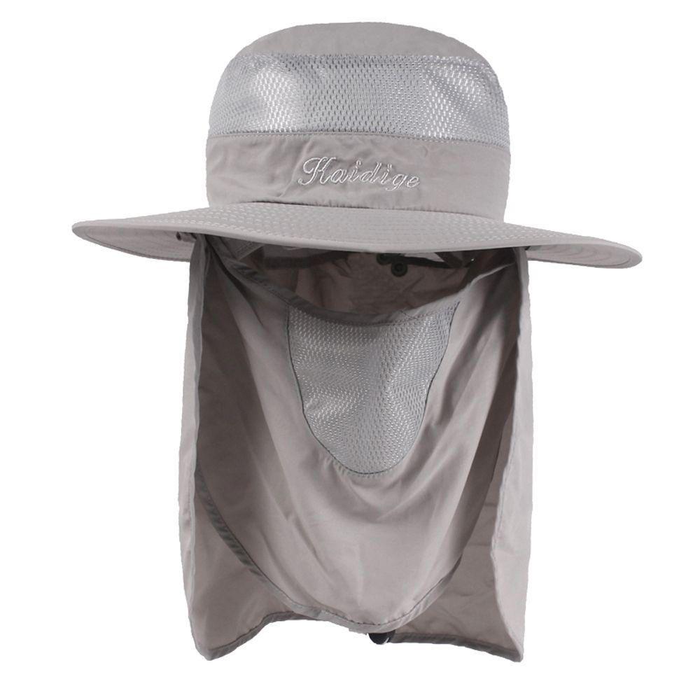 ce12797abaf7e  US 14.28  Wide Brim Bucket Hat Outdoor Breathable UV Protection Cap  wide