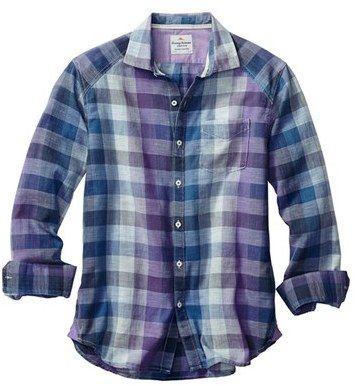 Tommy Bahama 'Gingham Coast' Shirt (Big & Tall)