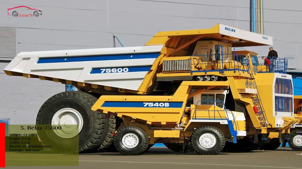 Biggest Truck In The World >> Top 9 Largest Truck In The World Car Trend Tv Trucks Heavy