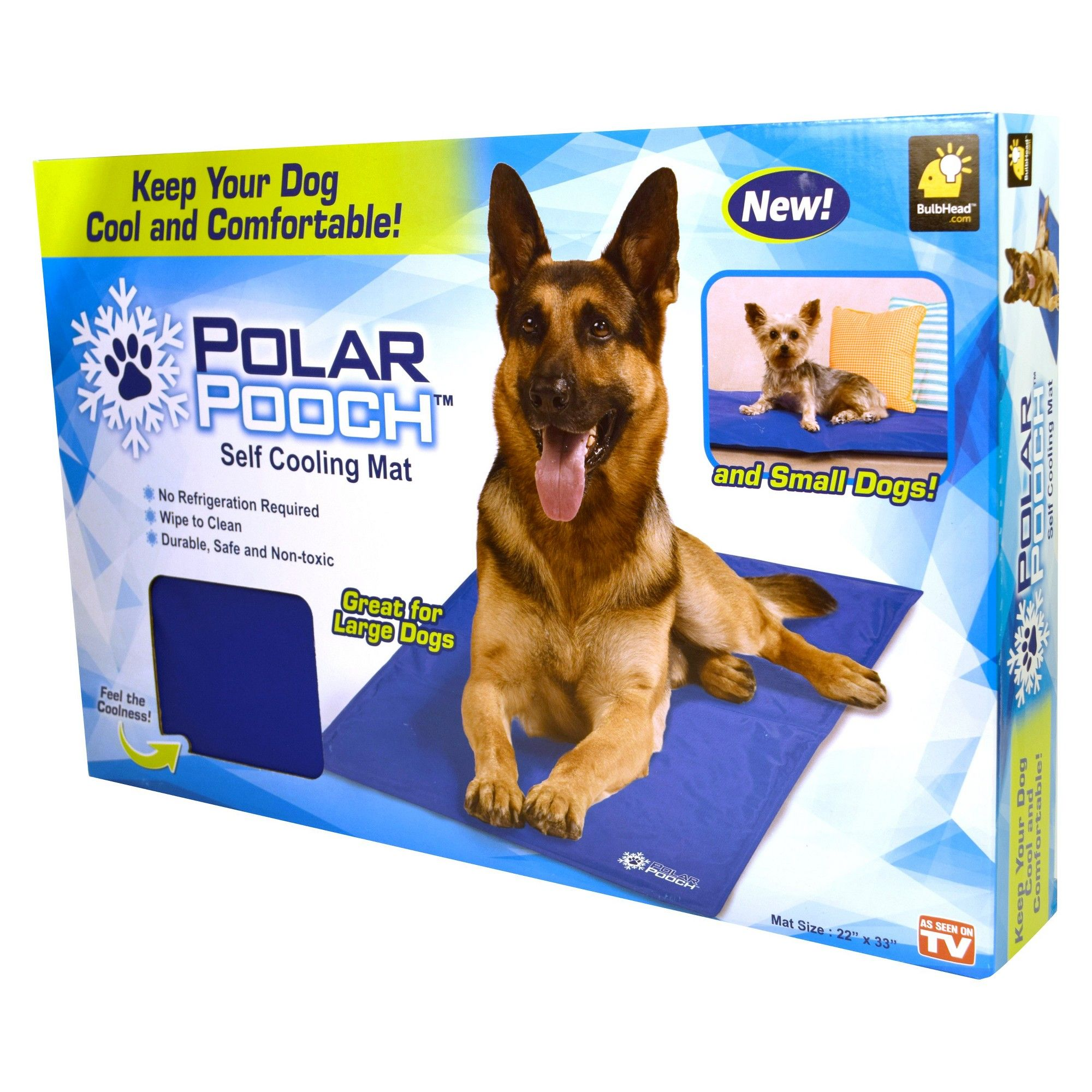 As Seen on TV Polar Pooch, Blue Products Pet cooling