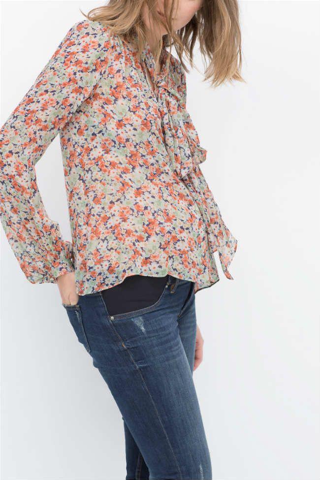 Las novedades de #Zara nos traen ropa premamá cómoda y a la moda. En #Modalia | http://www.modalia.es/marcas/zara/7582-ropa-premama-novedades-zara.html