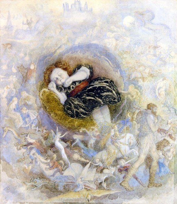 A Child's Dream of Fairy Land Artist: Richard Doyle