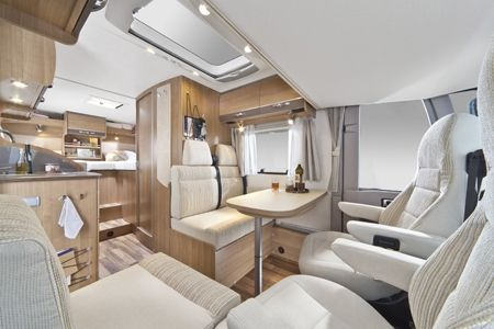 Small Motorhome Interior