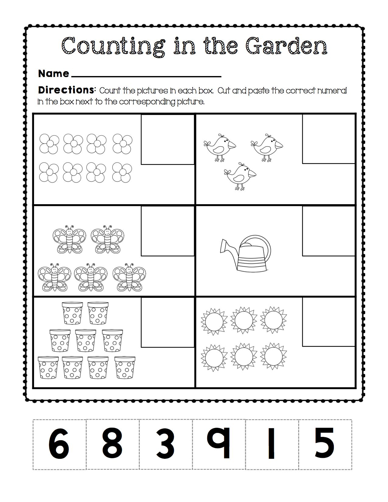 This Unit Is Jam Packed With Activities Worksheets Centers Projects And Much More To Integrate A Plant And Flower Theme Across A Plant Crafts Plants Flowers [ 1650 x 1275 Pixel ]
