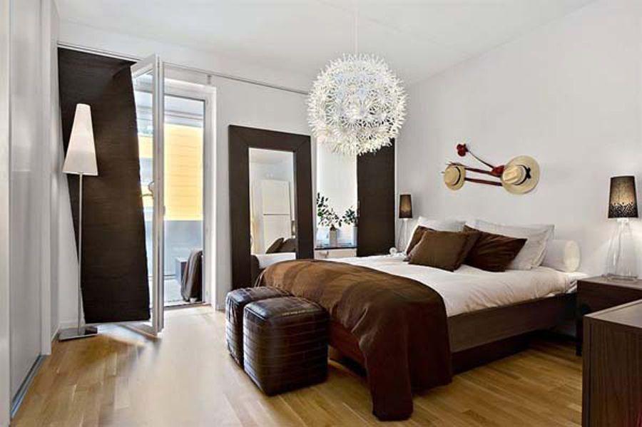 Inspiring Wonderful Globe Lamp In Brown And White Bedroom