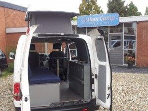 Nissan NV200 camper CustomCamp