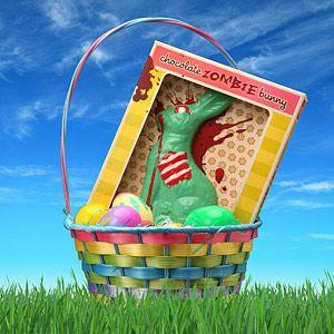 Chocolate zombie bunny. Genious xD