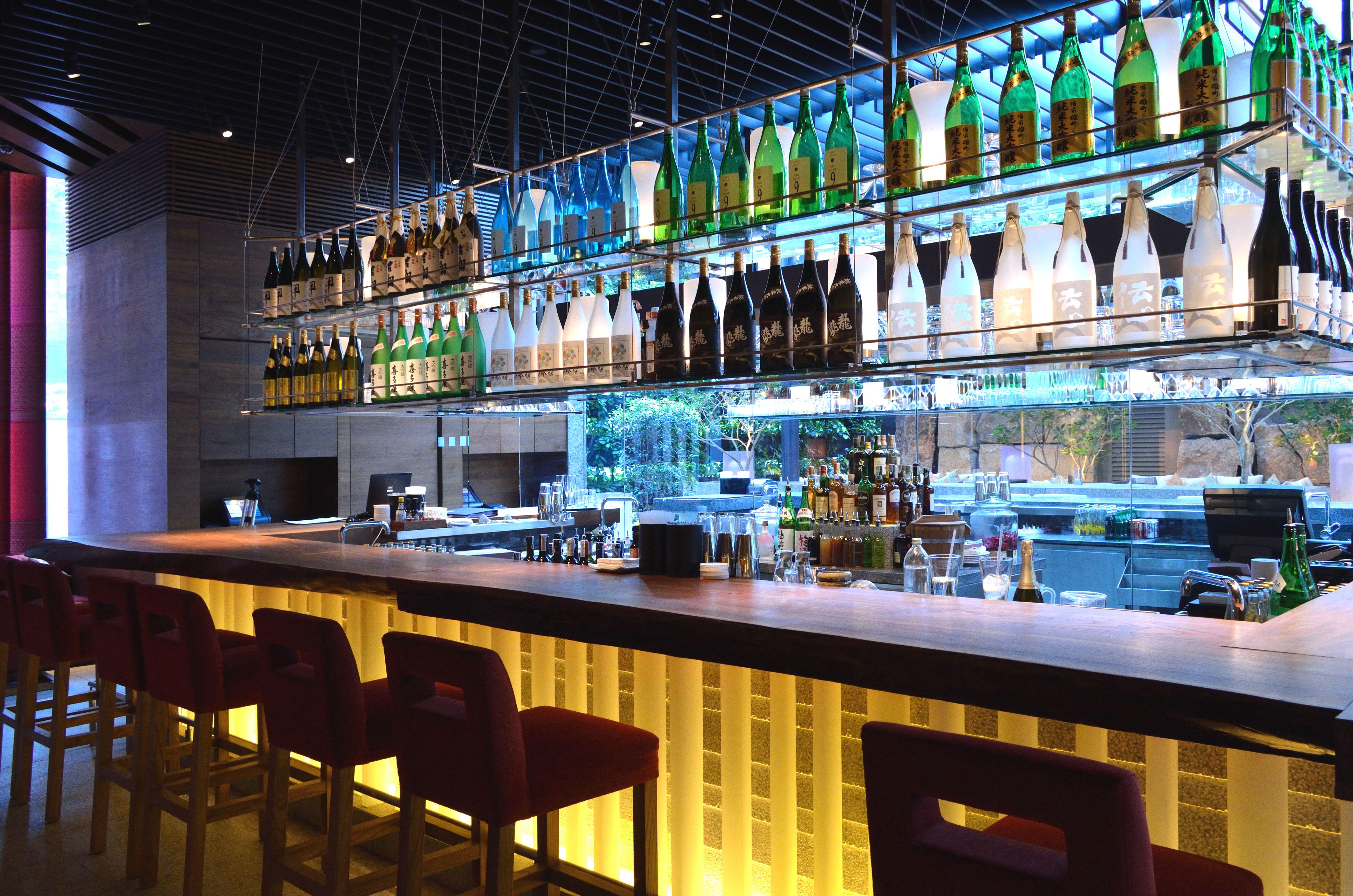 ZUMA Bangkok located in the spectacular St Regis Hotel