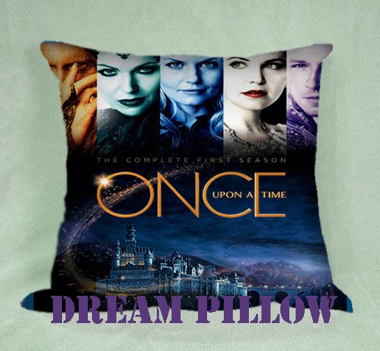 Once Upon a Time Pillow Custom Standard by NeuDreamPillow on Etsy, $13.00