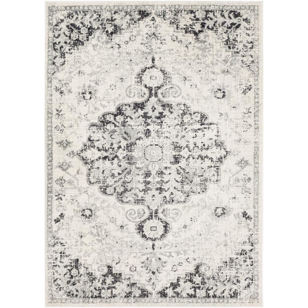 Artistic Weavers Kassandra Light Gray Charcoal 9 Ft 3 In X 12 Ft